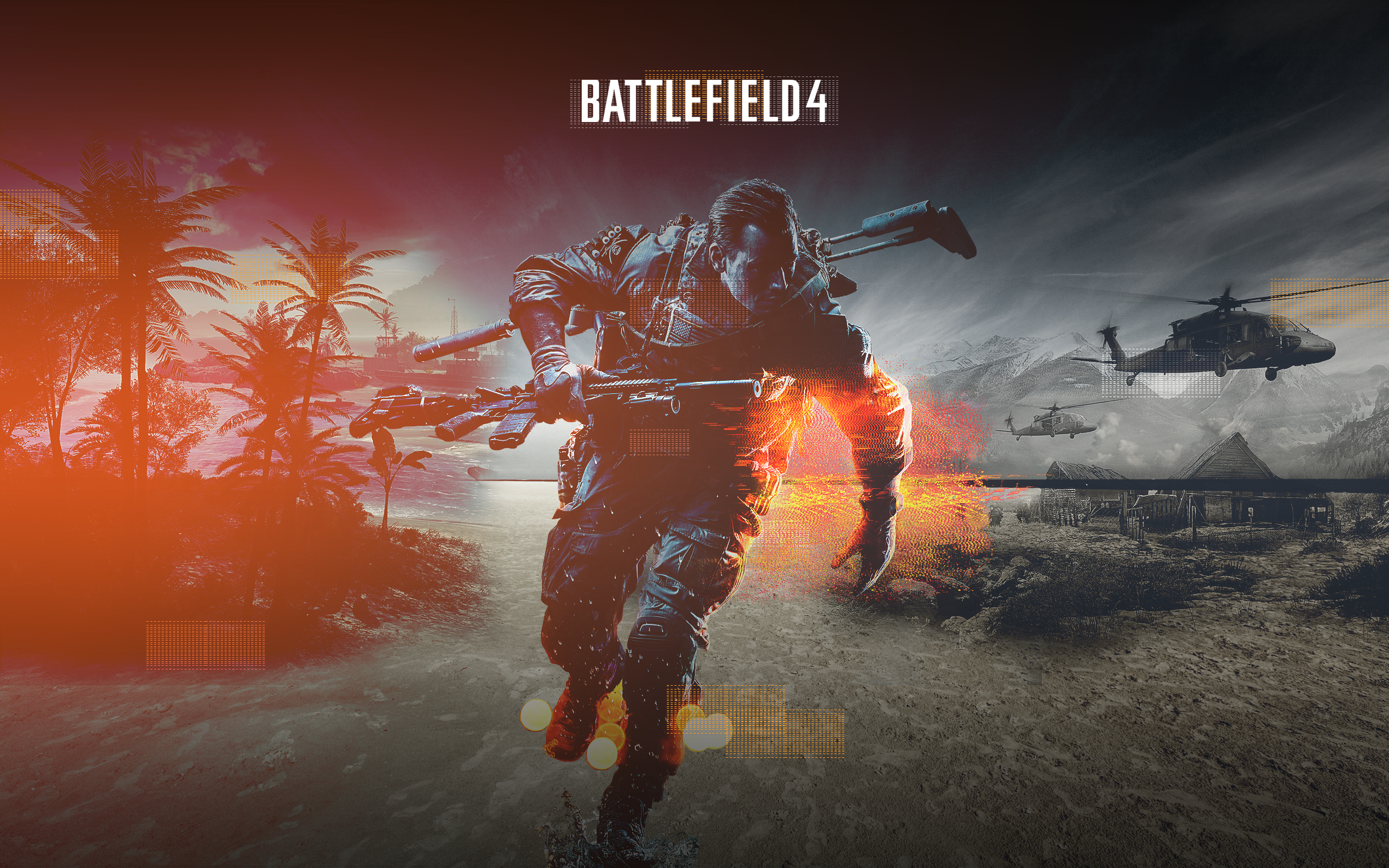 battlefield 4 hd fan wallpaper by danielskrzypon on