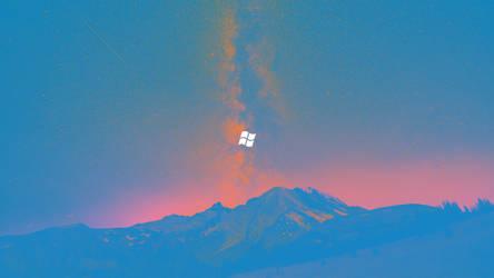 Windows Logo Wallpaper by danielskrzypon