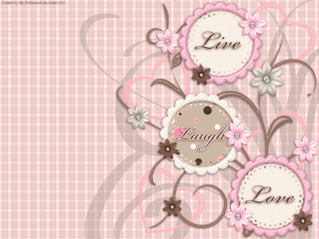 Love Wallpapers Backgrounds: Live Laugh Love Wallpaper