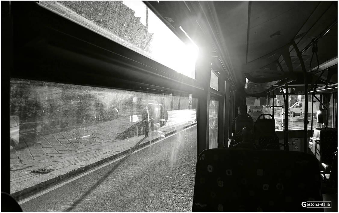 On the bus by Gaston3-italia