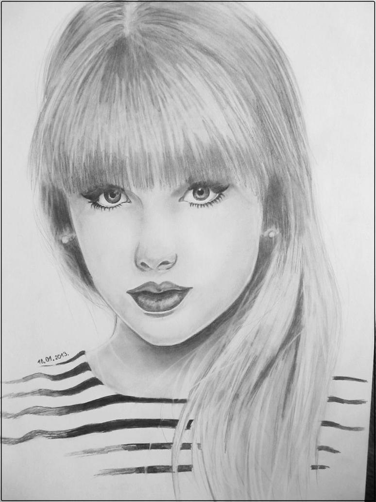 Drawing Lines With Swift : Drawings of taylor swift imgkid the image kid