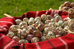 Romanian Easter Eggs by Nazareanu