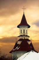 Moldavian Church I by Nazareanu