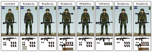 South Eakan Infantry Squad
