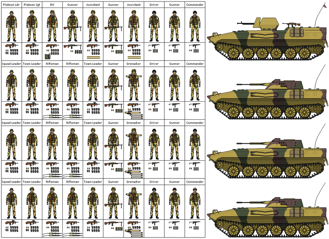Image Gallery Mechanized Infantry
