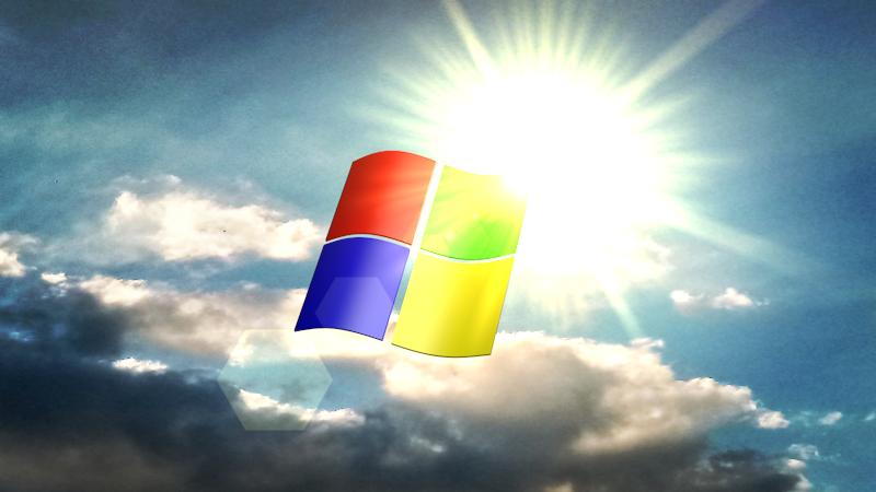 C4D] Windows Sunshine Wallpaper by eliscristiane2012 on DeviantArt