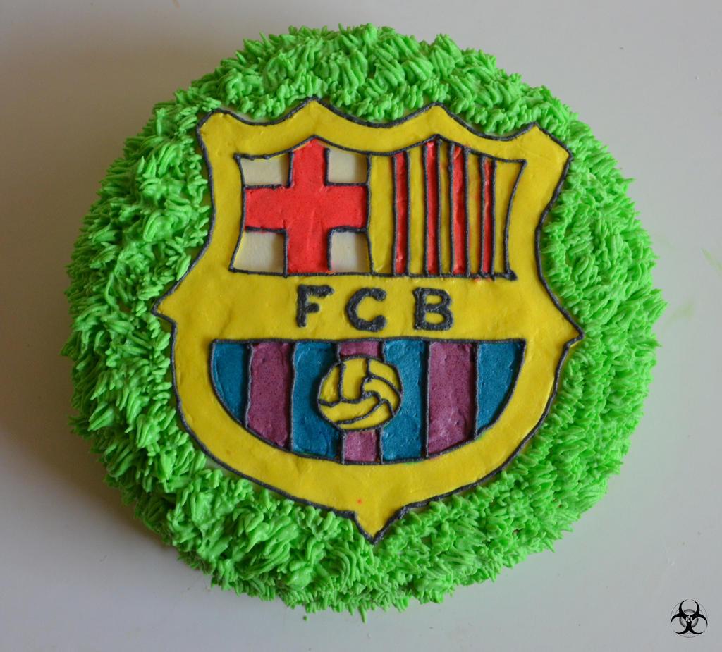 Fc Barcelona Cake 1 By Mirania666 On Deviantart