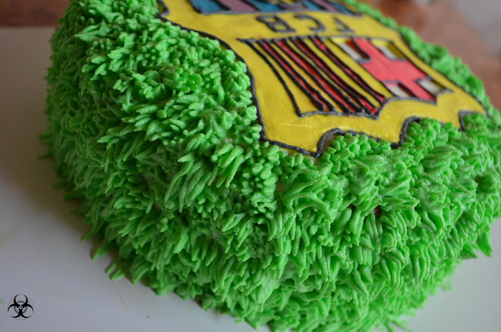 Fc Barcelona Cake 3 By Mirania666 On Deviantart