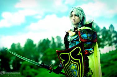 Warrior of Light by dorkishlylazy