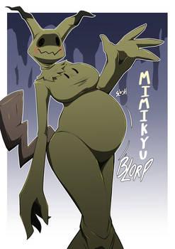 Mimikyu: Belly version