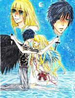Angel and Devil by angel-amu