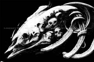Skulls and Skulls by LindseyWArt
