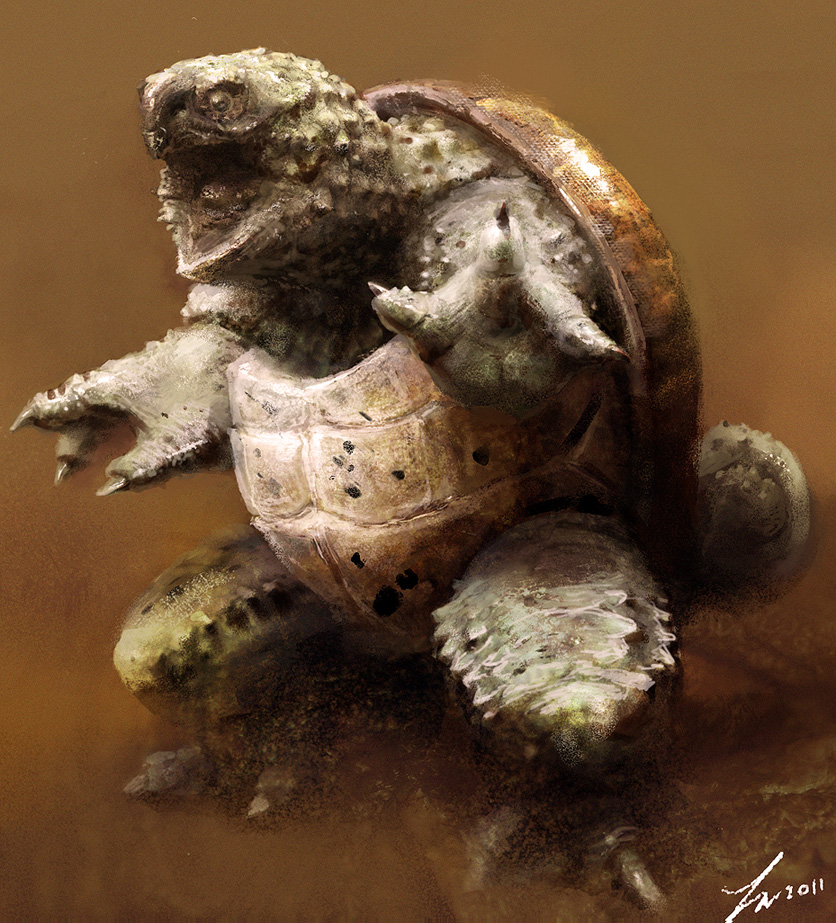 Squirtle by LindseyWArt