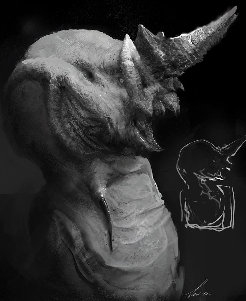 Garuda Bust by TwoDD