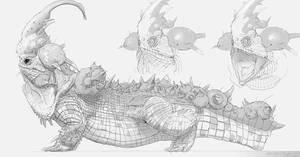 Little Devil Dragon Concept