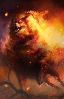 Arcanine used Flame Charge!