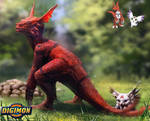 Digimon: Guilmon and Calumon