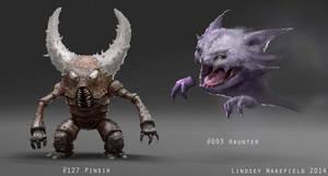 Pokemon: Pinser and Haunter