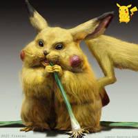 Pokemon: Pikachu by LindseyWArt