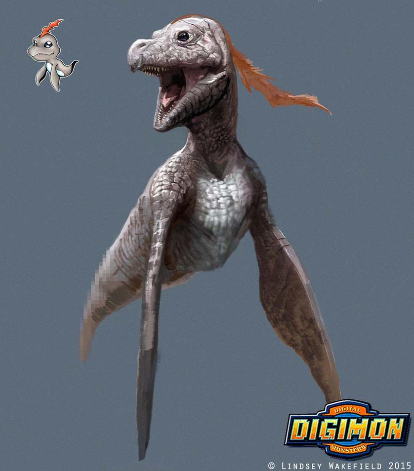 Digimon: Bukamon by LindseyWArt
