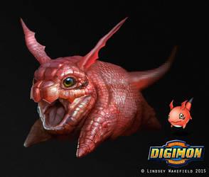 Digimon: Gigimon by LindseyWArt