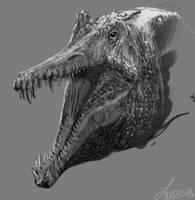 Sketch 08292018 - Spinosaurus