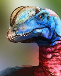 Dinovember: Dilphosaurus by LindseyWArt