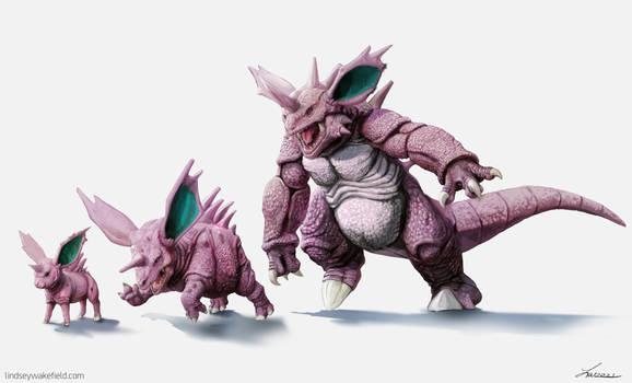 Pokemon: Nidoran Nidorino Nidoking