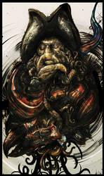 - Davy Jones - by LindseyWArt