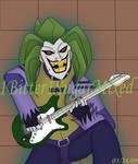Joker on guitar