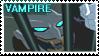 Vampire joker stamp.