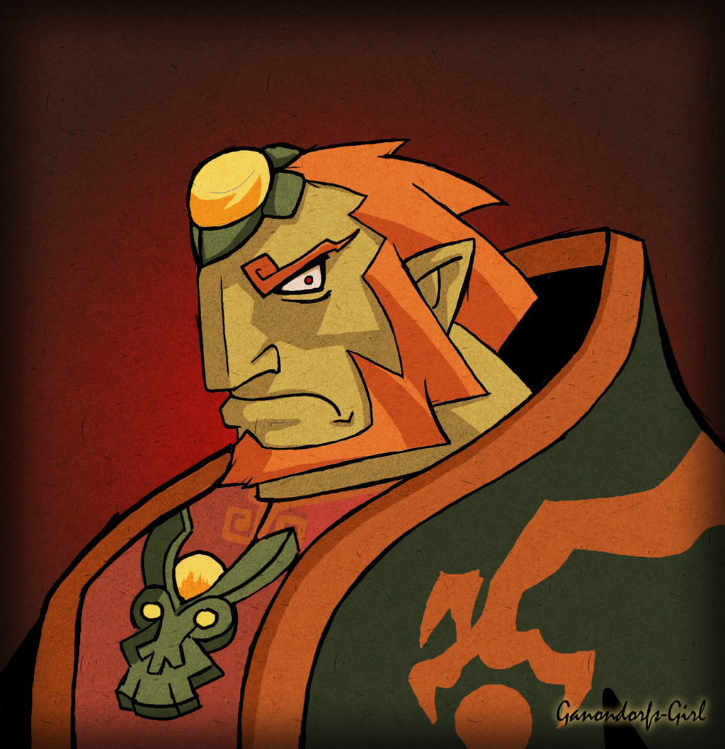 Angry Ganon by Anilede
