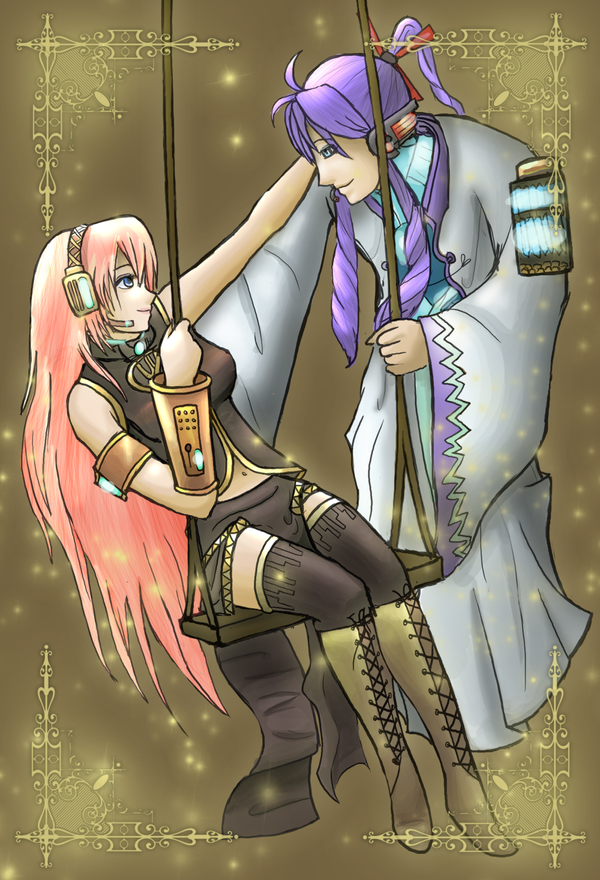 .:Trade:. Gackpoid and Luka by Anilede