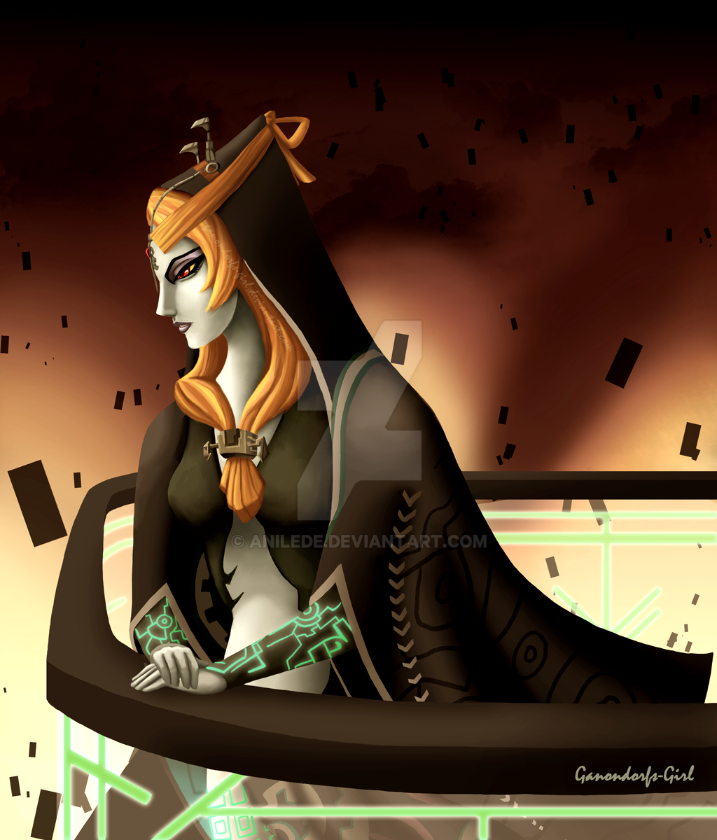 .:Commission:. Midna by Anilede