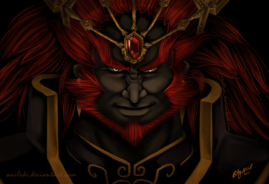 The Gerudo King by Anilede