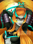 Umbra Witch Midna by Anilede