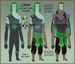 Twili OC: Ginorn - 2021 Reference