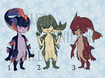 .:Zora Babies Set 1:. Adopt Auction 3/3 OPEN by Anilede