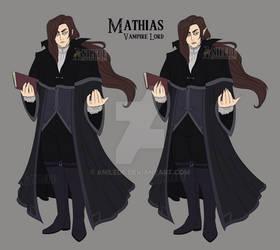 Vampire OC: Mathias Armand