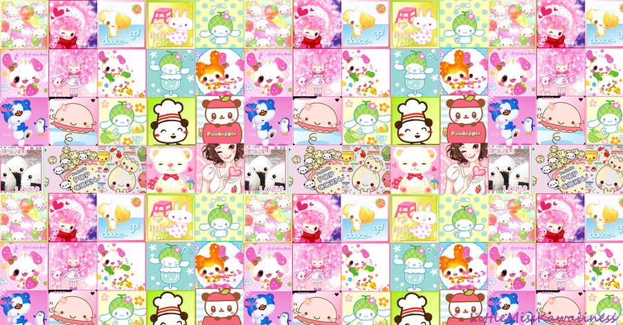 Free Kawaii Wallpaper By Sweetricecake