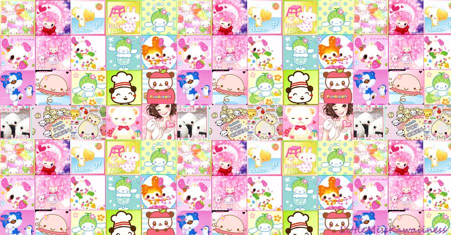Free Kawaii Wallpaper By Sweetricecake