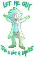 Tiny Rick by RatTheRipper