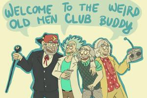 Weird Old Men Club by RatTheRipper