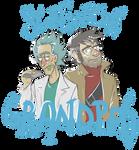 Science Grandpas (t-shirt design)