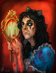 Alice Cooper in Wonderland by RatTheRipper
