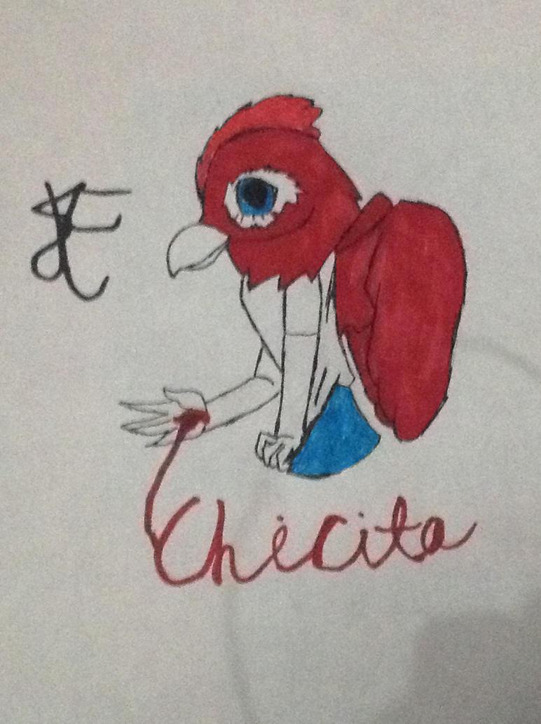 Inktober Day 5: Chicken by TheRealSukoyai