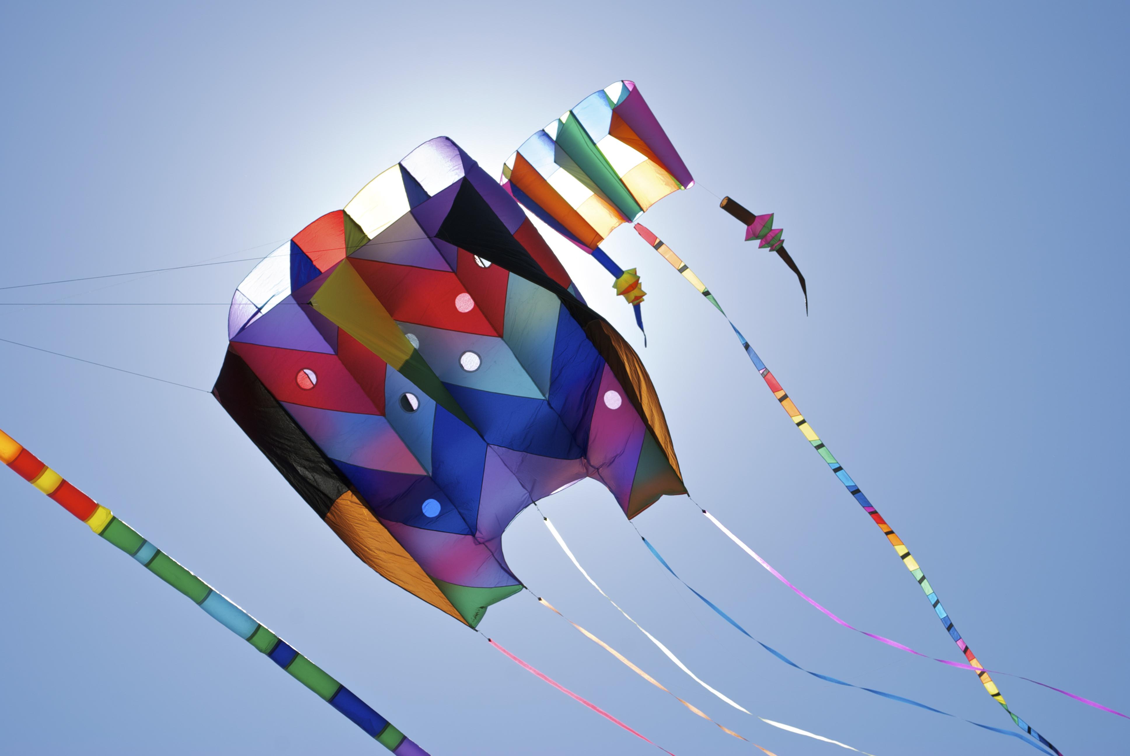 Homemade Kites by weRDunfo on DeviantArt