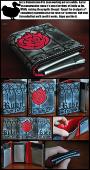 RWBY Themed Duct Tape Wallet