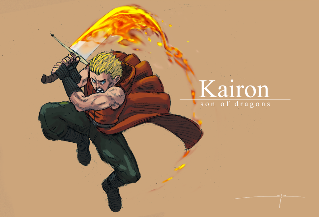 Kairon - Son of Dragons by MareniusArt
