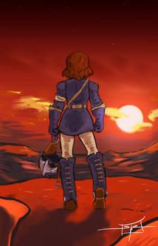 Nausicaa and the Setting Sun